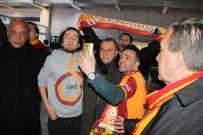 SİNAN GÜMÜŞ - Galatasaray Kafilesi Erzurum'da
