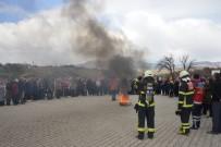 DOĞAL AFET - Gediz'de 'Sivil Savunma Günü Ve Deprem Haftası'