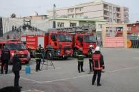 Midyat'ta 200 Öğrencinin Katılımı İle Yangın Tatbikatı Yapıldı