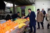 Vali Mustafa Masatlı, Halk Pazarını Ziyaret Etti
