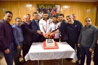 GÜREŞ TAKIMI - Avrupa Şampiyonu İbrahim Çiftçi'ye Başkent'te Özel Karşılama