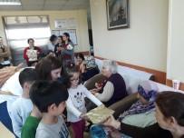 ÇOCUK HASTALIKLARI - Buca Kadın Doğum Ve Çocuk Hastalıkları Hastanesinden Huzurevine Ziyaret