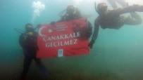Dalgıçlar 'Çanakkale Geçilmez' Dedi