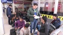 Erzincan'da 34 Düzensiz Göçmen Yakalandı