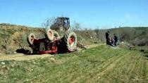 Havza'da Devrilen Traktörün Altında Kalan Sürücü Hayatını Kaybetti