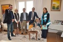 Karaman İl Sağlık Müdürü Arslan, Evde Bakım Hizmeti Alan Yaşlıları Ziyaret Etti