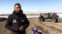 AZERBAYCAN - 'Off-Road' Yarışçılarının Kalbi, Kayağın Merkezinde Atacak