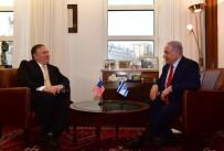 İRAN - Pompeo, İsrail Başbakanı Netanyahu İle Görüştü