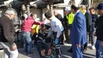 Samsun'da Ayva Yüklü Tır Devrildi Açıklaması 1 Yaralı
