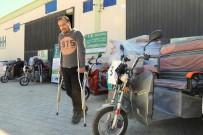 AZEZ - Suriyeli Engellilere 'Tuk Tuk' Dağıtımı