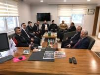 ZONGULDAK VALİSİ - Vali Bektaş'tan Cilas Şirketler Grubuna Ziyaret