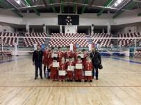 AĞRı MERKEZ - Van Özel Çınar Koleji Voleybol Takımı, Türkiye Finaline Yükseldi