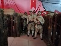 Yayladağı'nda 'Çanakkale Ruhu' Sergisi