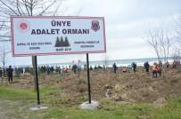 MILLI EĞITIM BAKANı - Adalet Çalışanlarından 'Adalet Ormanı'