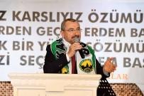 AK Parti Ataşehir Adayı İsmail Erdem, Kars, Ardahan, Iğdırlılar İle Bir Araya Geldi