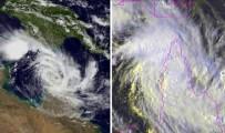 Avustralya'ya İki Fırtına Birden