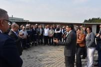 Başkan Çelik Belediye Şantiyelerinde İşçilerle Buluştu