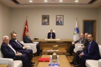 Başkan Toçoğlu Akyazı Ticaret Ve Sanayi Odası Üyeleri İle 3. OSB Yönetimini Makamında Ağırladı