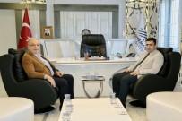 Başsavcı Çevik Başkan Kutlu İle Bir Araya Geldi