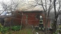 Depoda Çıkan Yangın Korkuttu