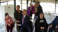 HIKMET ŞAHIN - Down Sendromlu Çocuklar Luna Parkta Eğlendi