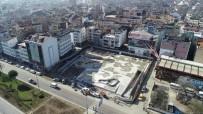 Fatsa Cumhuriyet Meydanı'na Zemin Betonu Döküldü
