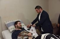 Futbolun Efsane İsminden Engelli Hayranına Sürpriz Ziyaret