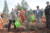 Manavgat'ta Orman Haftasında Sarılar Mahallesinde Ağaç Dikildi