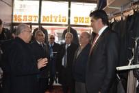 MECLİS ÜYESİ - MHP Genel Başkan Yardımcısı Prof. Dr. Mevlüt Karakaya, Tercan'da Esnafı Ziyaret Etti, Başkan Yılmaz'a Destek İstedi