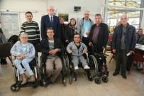 ODUNPAZARI - Odunpazarı Belediyesi'nden 55 Engelli Bireye Sandalye Desteği