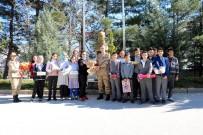 Öğrencilerden Albay Başaklıgil'e Ziyaret