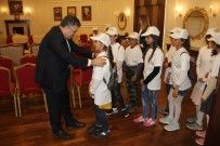 Öğrencilerden Emniyet Müdürüne Ziyaret