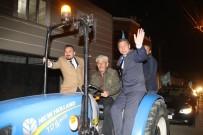 Özdemir Yeşilköy'de Başkan Gibi Karşılandı