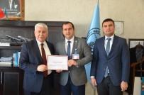 FERİT MELEN - Van Ferit Melen Havalimanı Müdürlüğüne 'Erişilebilirlik' Belgesi