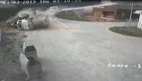 ENERJİ SANTRALİ - Vincin Kaza Anı Güvenlik Kamerasına Yansıdı