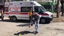 Adıyaman'da Trafik Kazası Açıklaması 2 Yaralı