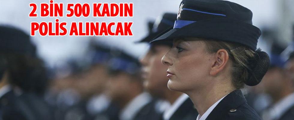 Bakan Soylu açıkladı: 2 bin 500 kadın polis alınacak