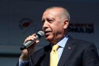 Cumhurbaşkanı Erdoğan Açıklaması 'Bizler Teröristlerle Omuz Omuza Yürüyenlere Hadi Yürüyün Diyemeyiz' (1)