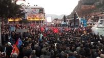 HıZLı TREN - Cumhurbaşkanı Erdoğan, Amasya'da Vatandaşlara Seslendi