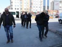 DEAŞ Operasyonunda Gözaltına Alınan 4 Şahıs Adliyede