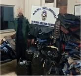 Giyim Mağazasının Camını Kırıp, 80 Bin Liralık Eşya Çaldılar