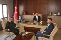 İbrahim Çeçen Vakfı Müdürü Dinçer'den Milli Eğitim Müdürü Tekin'e Ziyaret