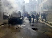 SİVİL SAVUNMA - İdlib'de Çifte Patlama Açıklaması 3 Yaralı