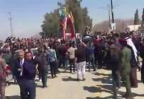 NEVRUZ - Irak Cumhurbaşkanı Salih, Musul'da Öfkeyle Karşılandı