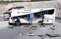 İzmir Valiliği Açıklaması Kazada 34 Kişi Yaralandı