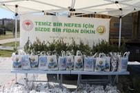 Kayseri Orman Bölge Müdürlüğü 10 Bin Fidan Dağıttı