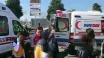 Maltepe'de Otomobil İle Dolmuş Çarpıştı Açıklaması 8 Yaralı
