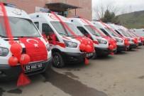 İL SAĞLıK MÜDÜRLÜĞÜ - Ordu'ya 6 Yeni Ambulans