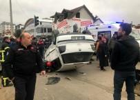 Otomobil İle Pikap Çarpıştı Açıklaması 1 Ağır Yaralı