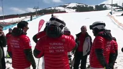 Senkronize Kayak Milli Takımı, Aspen'den Umutlu